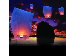 Lampión štěstí . Vypusťte své přání