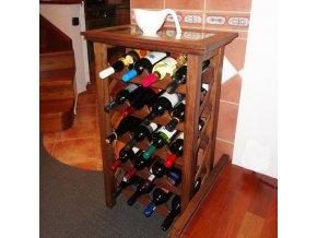 Stolek na 20 lahví . WINE