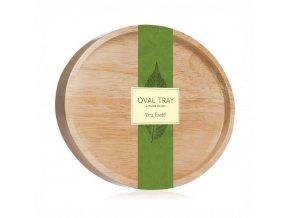 oval tray tea forte